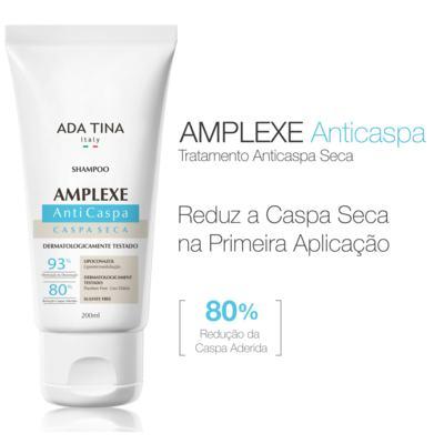 Imagem 2 do produto Amplexe Caspa Seca Ada Tina - Shampoo Anticaspa - 200ml