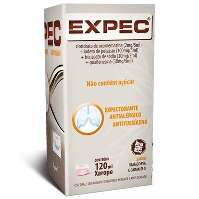 Imagem 1 do produto Expec Xarope Expectorante 120mL