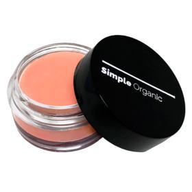 Lip + Cheek Simple Organic - Maquiagem multifunctional - Peach