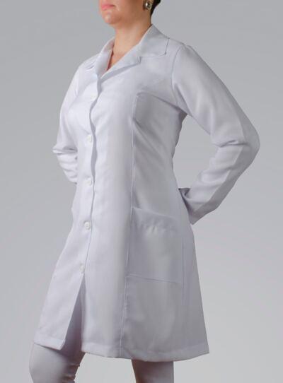 Imagem 3 do produto JALECO FEMININO MANGA LONGA OXFORD - PP
