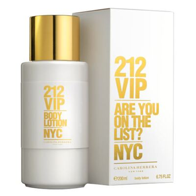 212 Vip Body Lotion Carolina Herrera - Loção Corporal - 200ml