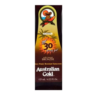 Imagem 2 do produto Spray Bronzeador Australian Gold Spray Gel Instant Bronzer SPF 30 - 125ml