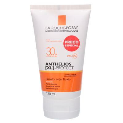 Anthelios XL FPS 30La Roche-Posay- Protetor Solar Fluído - 120ml
