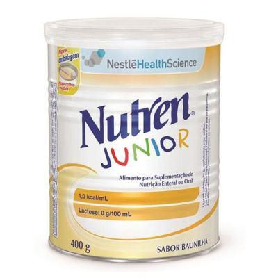 Imagem 2 do produto Nutren Junior Baunilha 400g -