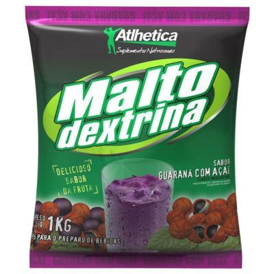 Maltodextrina 1Kg - Atlhetica - Tangerina