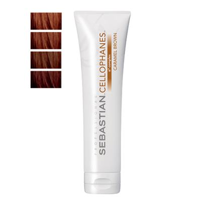 Cellophanes Sebastian 300ml - Tratamento para Cabelos Coloridos - Caramel Brown