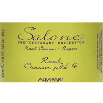 Imagem 2 do produto Alfaparf Salone Real Cream PH4 - Máscara Reestruturante - 500ml