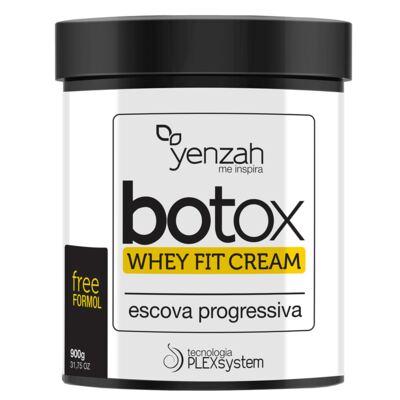 Imagem 1 do produto Botox Whey Fit Cream Yenzah - Escova Progressiva - 900g