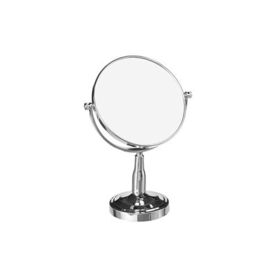 Espelho de Mesa Wellmix Dupla Face Redondo com Pedestal