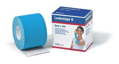Leukotape 5 cm  X 5 m Azul Celeste BSN Medical - Leukotape 5 cm X 5 m Azul Celeste BSN Medical