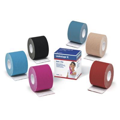 Imagem 3 do produto Leukotape 5 cm  X 5 m Azul Celeste BSN Medical - Leukotape 5 cm X 5 m Azul Celeste BSN Medical