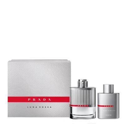 Imagem 2 do produto Luna Rossa Prada - Masculino - Eau de Toilette - Perfume + Gel de Banho - Kit