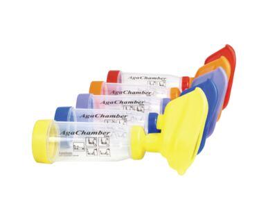 Imagem 1 do produto Espaçador AgaChamber Extra Agaplastic - Vermelho