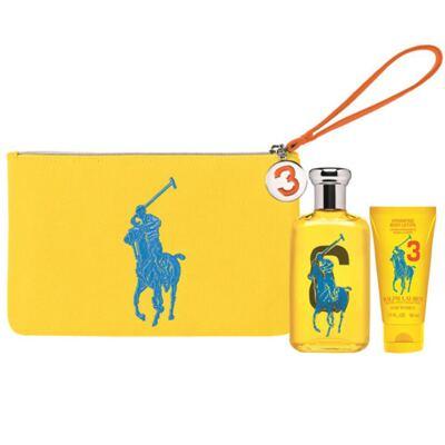 Imagem 1 do produto Polo Big Pony for Women Yellow Ralph Lauren - Feminino - Eau de Toilette - Perfume + Loção Corporal - Kit