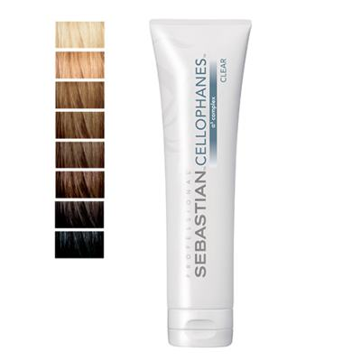 Imagem 1 do produto Cellophanes Sebastian 300ml - Tratamento para Cabelos Coloridos - Clear