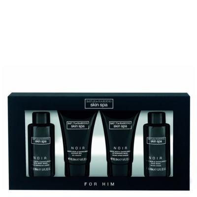 Imagem 1 do produto Âmbar Preto & Sândalo Baylis & Harding - Sabonete Líquido + Shampoo + Pós Barba + Gel de Banho - Kit