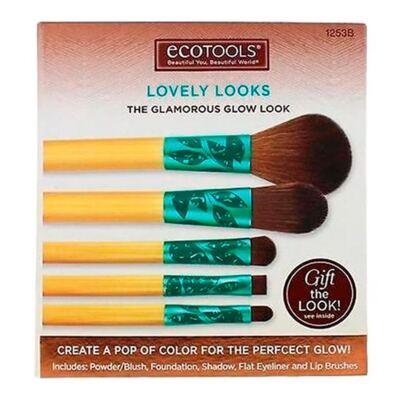 Imagem 4 do produto Lovely Looks Set Ecotools - Kit de Pincéis para Maquiagem - Kit