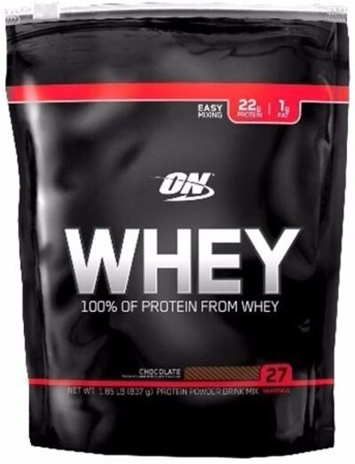 Whey Protein 100% Refil 837 Gramas Chocolate - Optimum