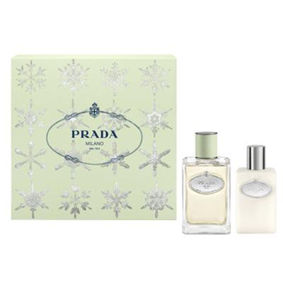 Prada Infusion D'Iris Prada - Feminino - Eau de Parfum - Perfume + Loção Corporal - Kit