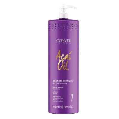 Imagem 1 do produto Cadiveu Açaí Oil  - Shampoo Purificante - 500ml