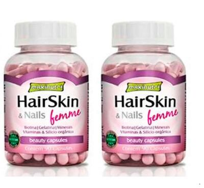 Combo 02 Hair Skin & Nails Femme 90cps – Maxinutri