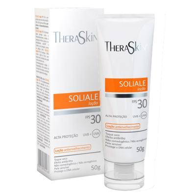 Imagem 2 do produto Soliale Loção FPS30 Theraskin - Protetor Solar - 50g