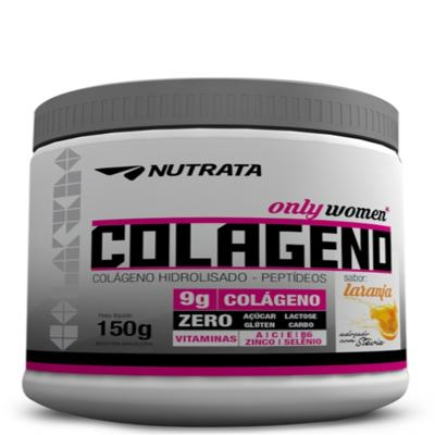 Colageno Peptideos Only Women 300g - Nutrata - Laranja
