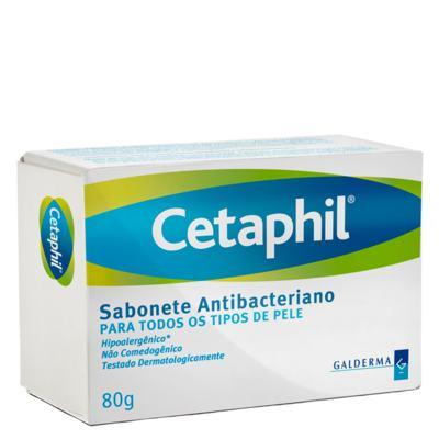 Imagem 1 do produto Cetaphil Sabonete Antibacteriano - Sabonete em Barra - 80g