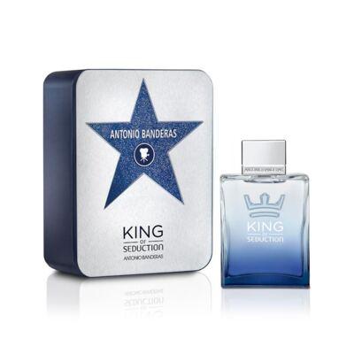 King Of Seduction Deluxe Metalbox de Antonio Banderas Masculino - 200 ml
