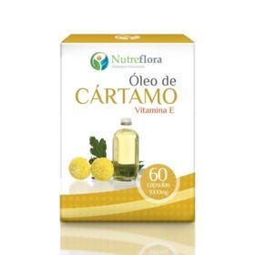 103856470 Óleo de Cártamo + Vitamina E - 1000 Mg - 60 Cápsulas -