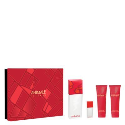 Imagem 1 do produto Intense For Woman Animale - Feminino - Eau de Parfum - Perfume + Miniatura + Gel de Banho + Loção - Kit