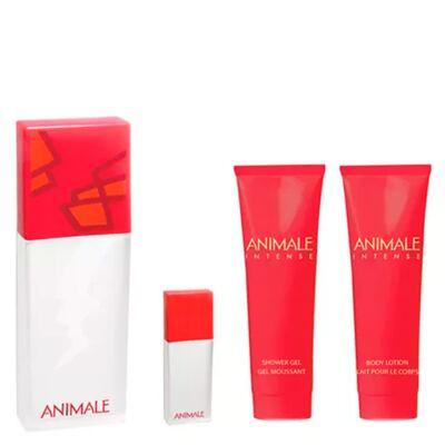 Imagem 2 do produto Intense For Woman Animale - Feminino - Eau de Parfum - Perfume + Miniatura + Gel de Banho + Loção - Kit