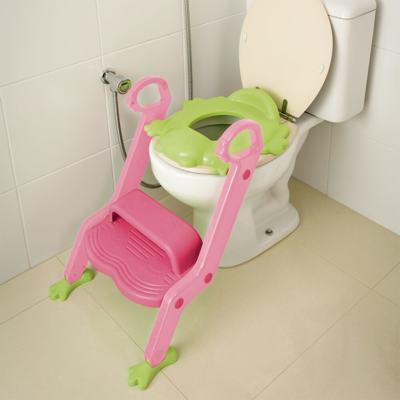 Redutor De Assento Com Escada Menina Multikids Baby - BB052 - BB052