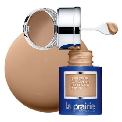 Imagem 5 do produto Skin Caviar Concealer + Foundation SPF 15 La Prairie - Base e Corretor - Honey Beige