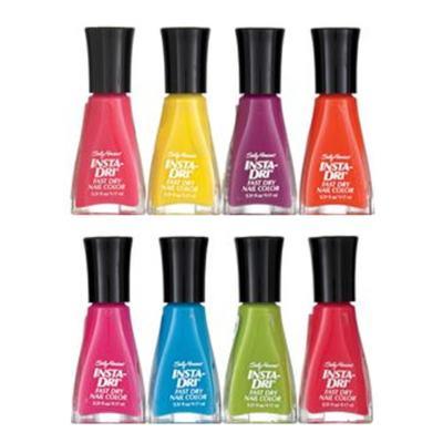 Imagem 1 do produto Sally Hansen Insta-Dri Fast Dry Nail Color Esmalte - Sally Hansen Insta-Dri Fast Dry Nail Color Esmalte 9,17ml - Silver Sweep