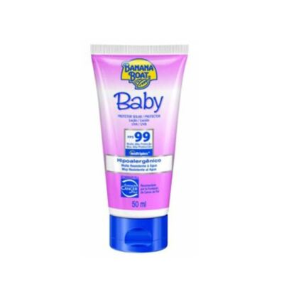 Protetor Solar Baby Banana Boat Loção Protetora Baby SPF 99 - 50ml