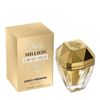 Imagem 4 do produto Lady Million Eau my Gold Paco Rabanne - Perfume Feminino - Eau de Toilette - 50ml