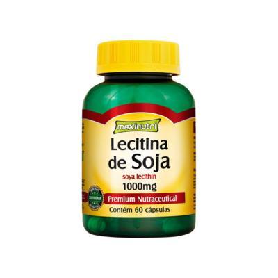 Imagem 1 do produto Lecitina de Soja 1g 60cps - Maxinutri - 60Cps