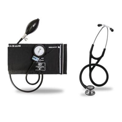 Imagem 5 do produto Kit Esteto Littmann Cardiology IV Preto com Aparelho de Pressão Bic Preto