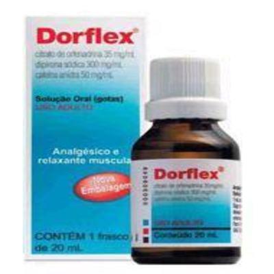 Dorflex 300+35+50mg/mL Solução Oral 20mL