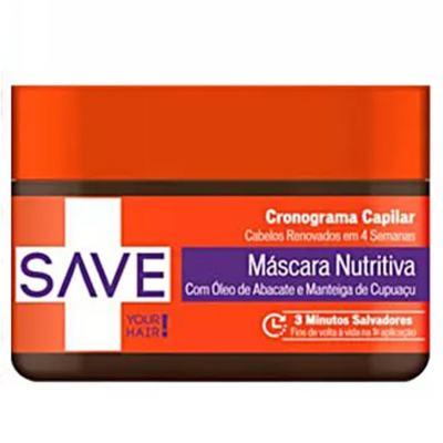 Imagem 4 do produto Kit Shampoo + Condicionador + Creme de Pentear + Máscara Yenzah Save Cronograma Capilar - Kit