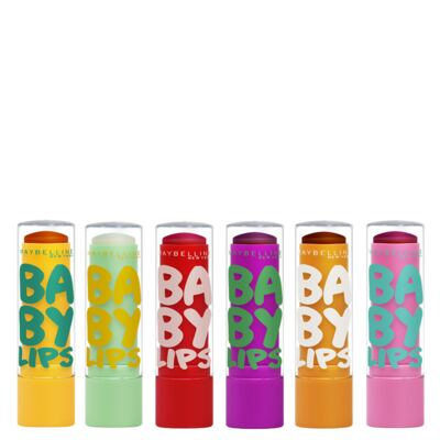 Imagem 1 do produto Kit Hidratante Labial Maybelline Baby Lips Super Frutas - Kit