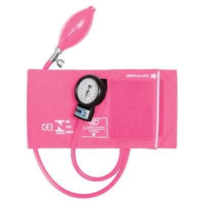Kit Esteto Spirit Professional Rosa Perolizado com Aparelho de Pressão Bic Rosa