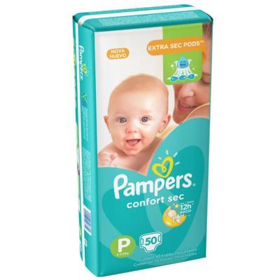 Imagem 11 do produto Fralda Pampers Confort Sec P 50 unidades -