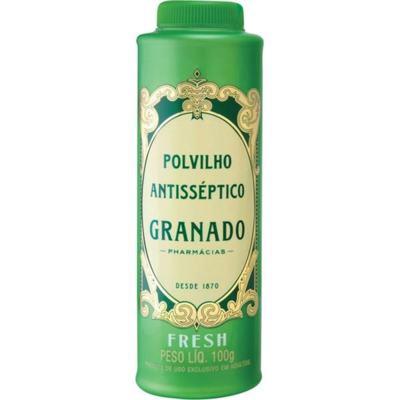 Imagem 2 do produto Talco Antisséptico Granado Fresh 100g -