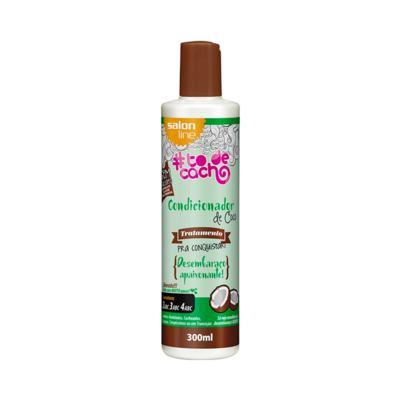 Imagem 1 do produto Condicionador de Coco Salon Line Tratamento Cosmético Pra Conquistar Desembaraço apaixonante 300ml
