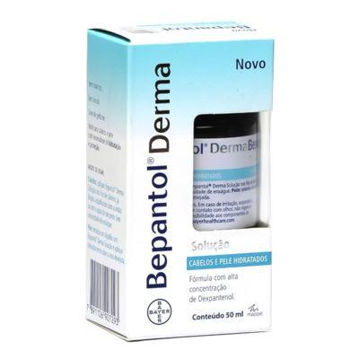 Imagem 2 do produto Bepantol Derma Solução Cabelos e Pele Hidratados 50ml