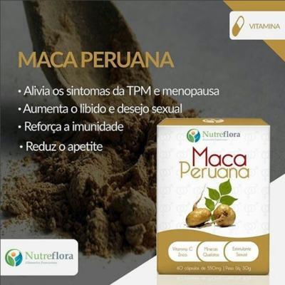 Imagem 2 do produto Maca Peruana - 500 mg - 60 cápsulas - Nutreflora -