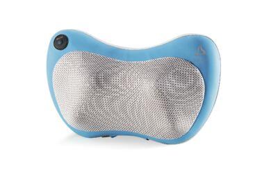 Encosto Massageador Multilaser Shiatsu Ultra Shiatsu Pillow (Azul) Bivolt - HC018 - HC018
