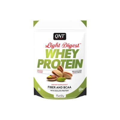 Light Digest Whey Protein 500G - QNT - Light Digest Whey Protein 500G - QNT - Pistache